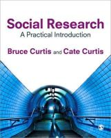 Curtis, Cate; Curtis, Bruce - Social Research - 9781847874757 - V9781847874757