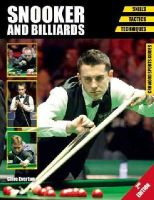 Everton, Clive - Snooker and Billiards: Skills - Tactics - Techniques (Crowood Sports Guides) - 9781847977922 - V9781847977922