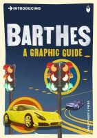 Thody, Philip - Introducing Barthes - 9781848312043 - V9781848312043