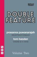 Basden, Tom; Puwanarajah, Prasanna - Double Feature - 9781848422209 - V9781848422209