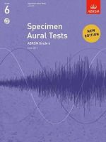 ABRSM Publishing - Specimen Aural Tests Gr 6 Bk & 2 Cds - 9781848492585 - V9781848492585