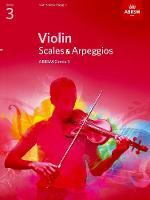 ABRSM - Violin Scales & Arpeggios Grade 3 (Abrsm Scales & Arpeggios) - 9781848493407 - V9781848493407