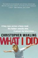 George, Christopher - What I Did - 9781848546165 - KNH0012097