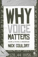 Couldry, Nick - Why Voice Matters - 9781848606623 - V9781848606623