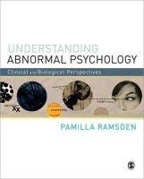 Ramsden, Pamilla - Understanding Abnormal Psychology - 9781848608764 - V9781848608764