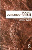 Burr, Vivien - Social Constructionism - 9781848721920 - V9781848721920