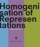 Sadria, Modjtaba - Homogenisation of Representations - 9781848856257 - V9781848856257