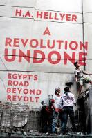 H. A. Hellyer - A Revolution Undone: Egypt's Road Beyond Revolt - 9781849046848 - V9781849046848