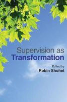 - Supervision as Transformation: A Passion for Learning - 9781849052009 - V9781849052009