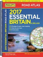 Philip's Maps - Philip's Essential Road Atlas Britain and Ireland 2017 - 9781849074148 - KEX0298626