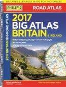 Philip's Maps - Philip's Big Road Atlas Britain and Ireland 2017 - 9781849074155 - KTG0016199