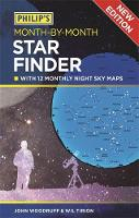 Woodruff, John - Philip's Month-by-Month Star Finder - 9781849074315 - KRS0029614