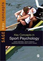 Kremer, John M. D.; Moran, Aidan; Craig, Cathy; Walker, Graham - Key Concepts in Sport Psychology - 9781849200523 - V9781849200523
