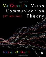 McQuail, Denis - McQuail's Mass Communication Theory - 9781849202923 - V9781849202923