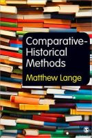 Lange, Matthew - Comparative-Historical Methods - 9781849206280 - V9781849206280