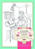 Worth Press - Colour My Classics - Jane Austen's Sense & Sensibility - 9781849311304 - V9781849311304