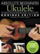 Sproat, Steven - Absolute Beginners Ukulele - Omnibus Edition - 9781849382755 - V9781849382755