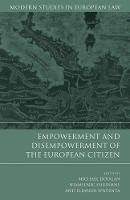 Michael Dougan - Empowerment and Disempowerment of the European Citizen - 9781849462358 - V9781849462358