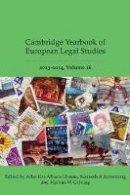 Albertina Albors-Llorens - Cambridge Yearbook of European Legal Studies: Volume 16, 2013-2014 - 9781849466288 - V9781849466288
