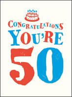 . - Congratulations You're 50 (Gift Books) - 9781849539036 - V9781849539036