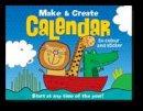 Gemma Cooper - Make and Create Calendar: 12 Calendar Pages to Colour and Sticker - 9781849588416 - V9781849588416