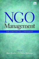 - NGO Management - 9781849711203 - V9781849711203