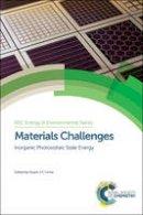 Vincent Barrioz - Materials Challenges - 9781849731874 - V9781849731874
