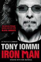 Tony Iommi - Iron Man - 9781849833219 - V9781849833219