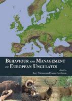 Putman, Rory; Apollonio, Marco - Behaviour and Management of European Ungulates - 9781849951227 - V9781849951227