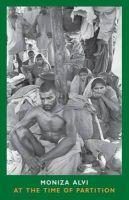 Alvi, Moniza - At the Time of Partition - 9781852249847 - V9781852249847