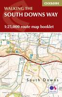 Reynolds, Kev - The South Downs Way Map Booklet: 1:25,000 OS Route Mapping - 9781852849399 - V9781852849399