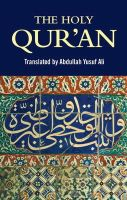 - The Holy Qur'an - 9781853267826 - V9781853267826