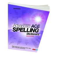 Moseley, David - Advanced Ace Spelling Dictionary - 9781855035324 - V9781855035324