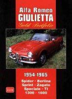 Clarke, R.M. - Alfa Romeo Giulietta Gold Portfolio 1954-1965 - 9781855200661 - V9781855200661