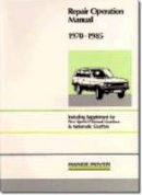 Brooklands Books Ltd - Range Rover WSM 1970-85 (Official Workshop Manuals) - 9781855201224 - V9781855201224