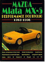 Clarke, R.M. - Mazda Miata MX5 Performance Portfolio, 1989-1997 - 9781855203556 - V9781855203556