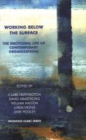 Armstrong, David, Huffington, Clare - Working Below the Surface - 9781855752948 - V9781855752948