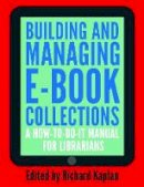 - Building and Managing E-book Collections - 9781856048378 - V9781856048378