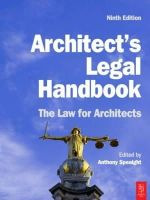 Speaight, Anthony - Architect's Legal Handbook - 9781856176279 - V9781856176279