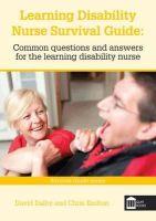 Dalby, David; Knifton, Chris - Learning Disability Nurse Survival Guide - 9781856424349 - V9781856424349