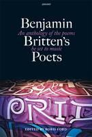 - Benjamin Britten's Poets - 9781857542400 - V9781857542400
