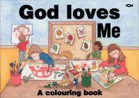 Hazel Scrimshire - God Loves Me: A Colouring Book (Bible Art) - 9781857920932 - V9781857920932