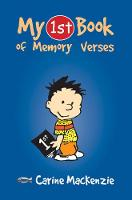 MacKenzie, Carine - My 1st Book Of Memory Verses - 9781857927832 - V9781857927832