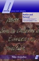 Peter McQuillan - MCQUILLAN:NATIVE & NATURAL P/B (R) - 9781859183649 - V9781859183649