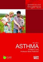 Levy, Dr Mark, Fletcher, Monica, Pederson, Prof Soren - Asthma Answers at your fingertips - 9781859593721 - V9781859593721