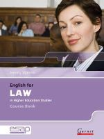 Walenn, Jeremy - English for Law in Higher Education Studies - 9781859644171 - V9781859644171