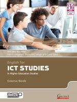 Fitzgerald, Patrick; McCullagh, Marie; Tabor, Carol - English for ICT Studies in Higher Education Studies - 9781859645192 - V9781859645192