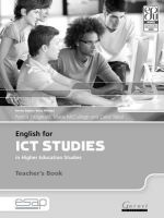 Fitzgerald, Patrick; McCullagh, Marie; Tabor, Carol - English for ICT Studies in Higher Education Studies - 9781859645208 - V9781859645208