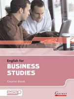 Walker, Carolyn - English for Business Studies in Higher Education Studies - 9781859649367 - V9781859649367