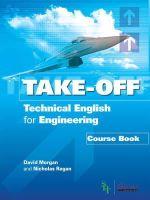 Morgan, David; Regan, Nicholas - Technical English for Engineering - 9781859649749 - V9781859649749